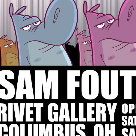 Sam Fout show at Rivet