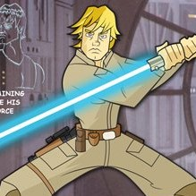 Luke Skywalker Character Key